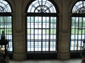 """My Notebook"", my blog on arts, travel photos, and anything interesting. This picture was initially posted as the blog's header. It displayed the windows at Belvedere Palace, Vienna."